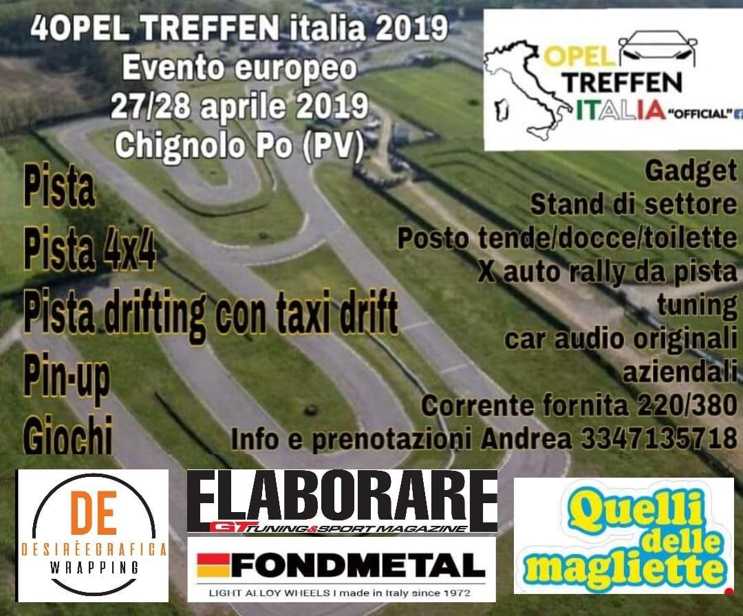 4. Opel Treffen Italia 2019