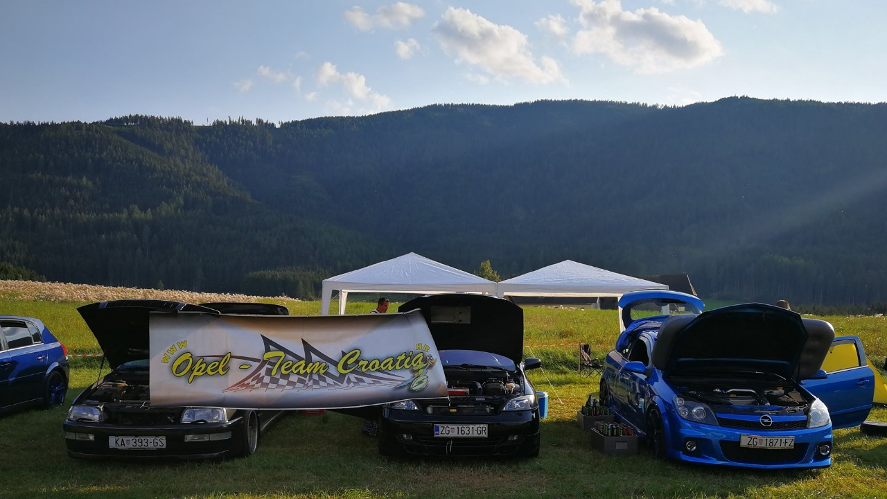 14. internationale Opeltreffen OPEL CLUB MURAU
